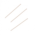 Eye Pin 38x0,41 mm 14Kt Rose Gold-filled x10
