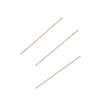 Eye Pin 25x0,41 mm 14Kt Rose Gold-filled x10