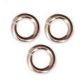 14Kt Rose Gold-filled jumprings open 5x1 mm x10