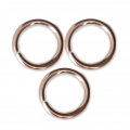 14Kt Rose Gold-filled jumprings open 8x1mm x10