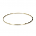 Bronze bangle bracelet 68 mm - Gold Plated 3 microns x1