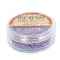 Ice resin - Glass Glitter - Amethyst x7g