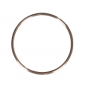 Closed ring 21.7 mm 14Kt Rose Gold-Filled x1