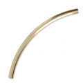 Curved tube 35x2 mm - 14Kt Gold filled x1
