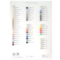 SWAROVSKI CRYSTAL PEARLS COLOR CHART 2017 - PEARLS