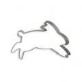 Metal cookie cutter for modeling - YEY - 12x8 cm Rabbit x1
