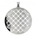 Stainless Steel Openwork pendant 62 mm x1