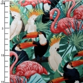 Miami Tropic Collection by Janelle Penner for Timeless Trea - Tropical Birds x10cm