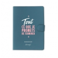 Daily diary 2018 2019 Mr. Wonderful - Tout ce que je promets de Terminer IN FRENCH