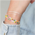 Made by me Brick Stitch Kit to make a Multicolored bracelet