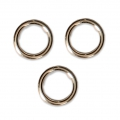 14K Gold filled jumprings open 6x0.76mm x10