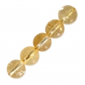 Round Gemstone beads 8 mm Citrine x10