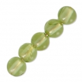 Round Gemstone beads 3 mm Peridot x25