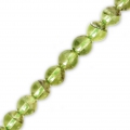 Round Gemstone beads 2 mm Peridot x50