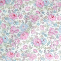 Liberty fabric  - Felicite Pastel Pink/ Green / Blue x10cm