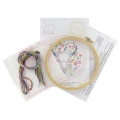 Embroidery kit - Artisanal French manufacture -  Alors...On crâne ? x1