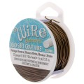 Craft Wire flexible copper wire 0.64 mm Vintage Bronze x 13.5 m