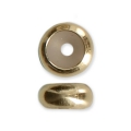 Stopper bead 5x2.3 mm with a 1.5 mm hole 14 Kt Gold-Filled x1