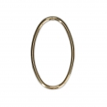14 Kt Gold-Filled oval-shaped loop 22x13.5 mm x1