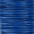 Genuine leather cord 1.5 mm Blue x 100 cm
