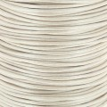 Genuine leather cord 1.5 mm Light Silver x 100 cm