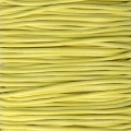 Genuine leather cord 1.5 mm Yellow x 100 cm