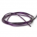 Smooth french wire/purls for embroidery - or embroidery jewels 1 mm Violet x5g