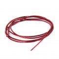 Smooth french wire/purls for embroidery - or embroidery jewels 1 mm Scarlet Red