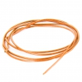 Smooth french wire/purls for embroidery - or embroidery jewels 1 mm Peach x5g