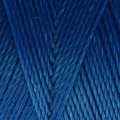 Linhasita wax thread bobbin for micro macrame 0.75 mm Blue (692) x250m