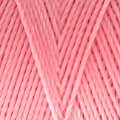 Linhasita wax thread bobbin for micro macrame 0.75 mm Salmon (324) x250m