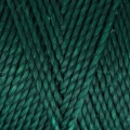 Linhasita wax thread bobbin for micro macramé 1 mm Emerald (386) x180m