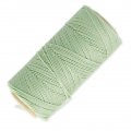 Linhasita wax thread bobbin for micro macramé 1 mm Lichen (397) x180m