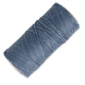 Linhasita wax thread bobbin for micro macramé 1 mm Jeans (384) x180m