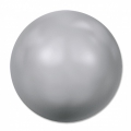 Swarovski 5817 Cabochon 8 mm Light Grey Pearl x1