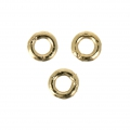 14Kt Gold-filled closed jumprings 2x0.5 mm x10