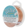Craft Wire flexible copper wire 0.64 mm Natural x 13.71 m