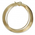 Craft Wire flexible copper wire 1.29 mm Gold Tone x 4.57 m