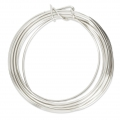 Craft Wire flexible copper wire 1.29 mm Silver Tone x 4.57 m