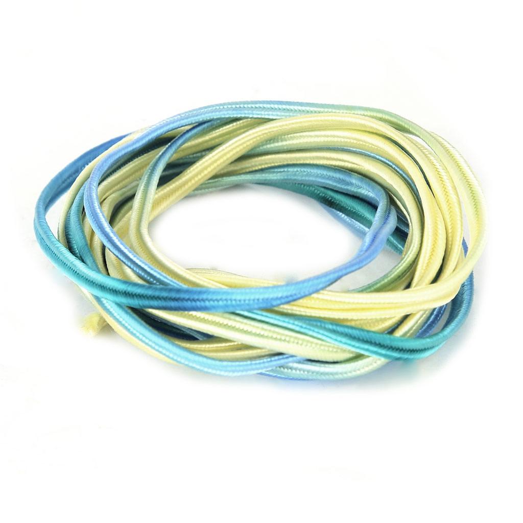 Soutache braid 3 mm Tie and Dye Cedar x2 m - Reje - Perles & Co