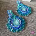 Soutache braid 3 mm Tie and Dye Sea x 2m