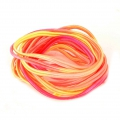 Soutache braid 3 mm Tie and Dye Sunset x2 m