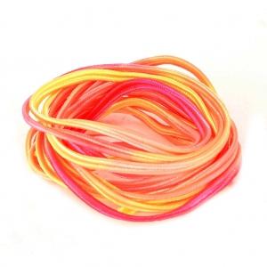 10fbb695bf4e6b Soutache braid 3 mm Tie and Dye Sunset x2 m - Perles   Co