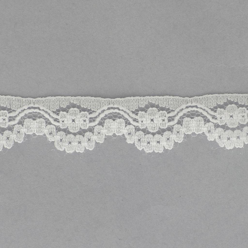 5b23398c95f2 Rachel lace ribbon Flowers 12 mm Ivory x1m - Perles & Co