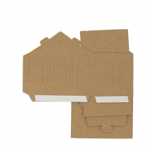 Cardboard House To Assemble And To Decorate Model 2
