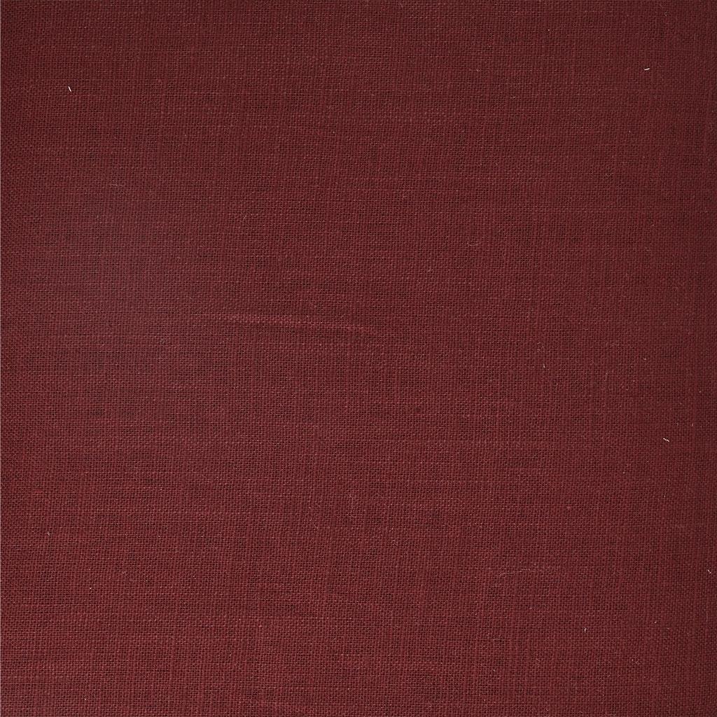 Linen fabric - Bordeaux x10cm