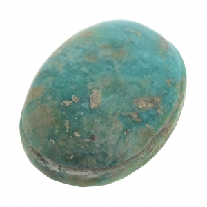18x13 Oval Cabochon Natural Teal Blue Onyx