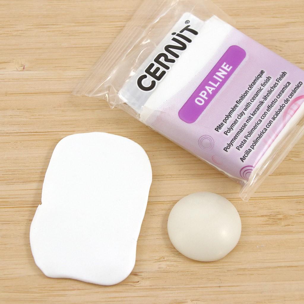 Cernit 500 g Trans Clay Translucent White