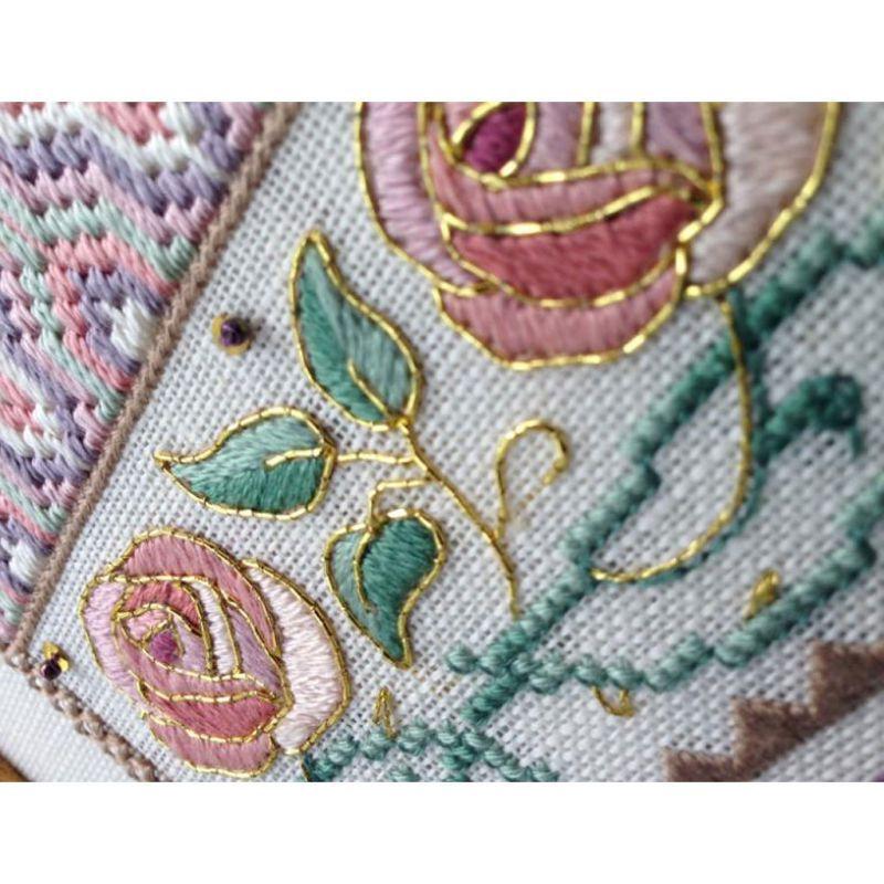 Japanese metallic thread Kreinik for gold embroidery 7 - Copper (021J) x10m