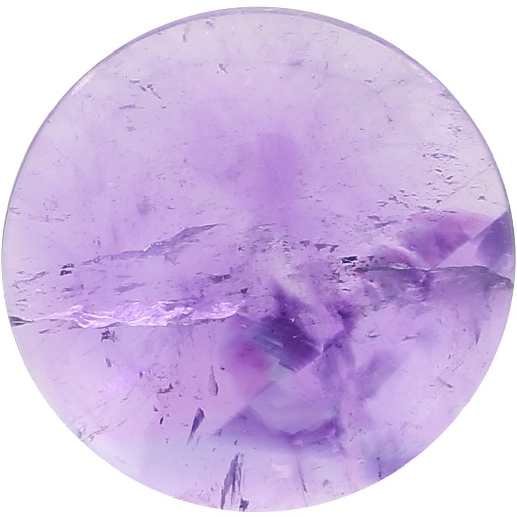 25 mm purple cabochon
